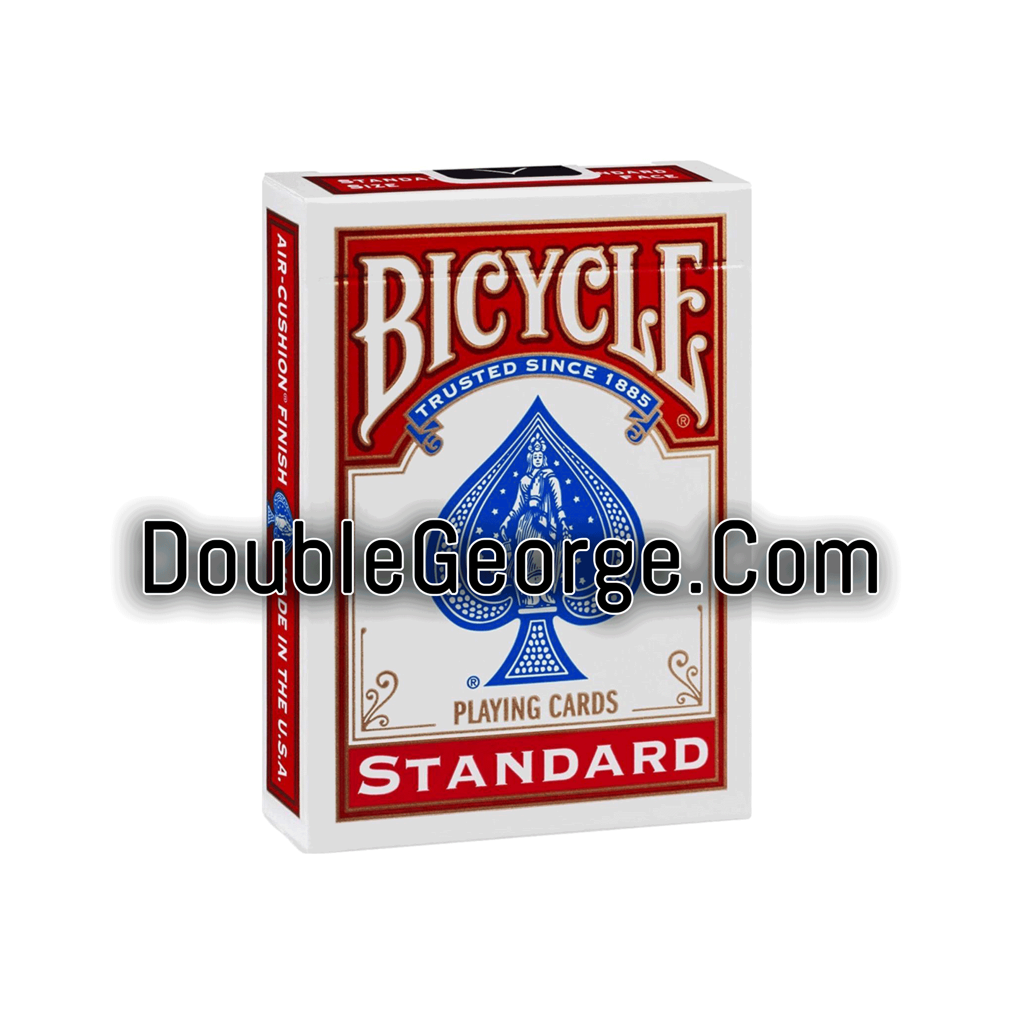 Double George, Invisible Deck, Professional, Invisible, Red Bicycle, Card Tricks
